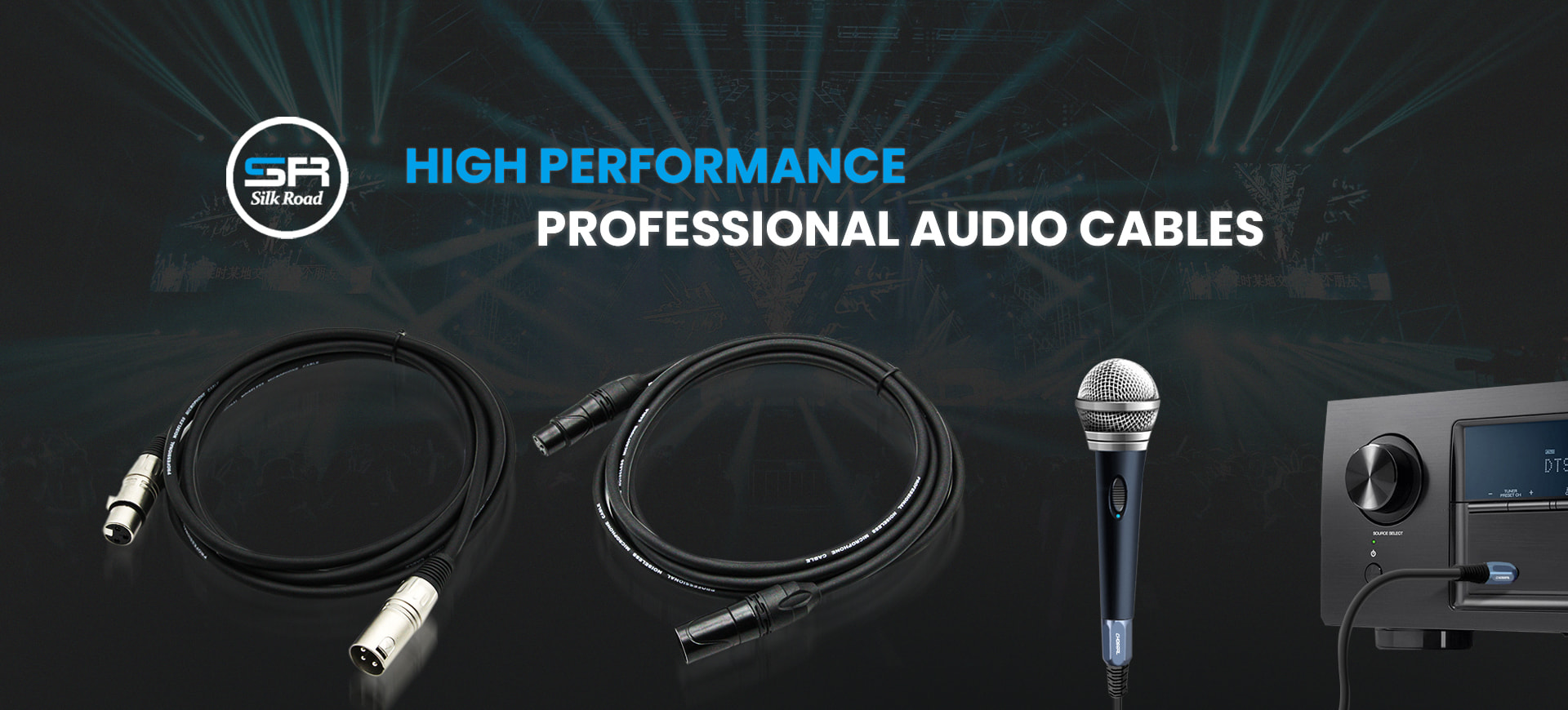 High Performance Professional Audio Cables