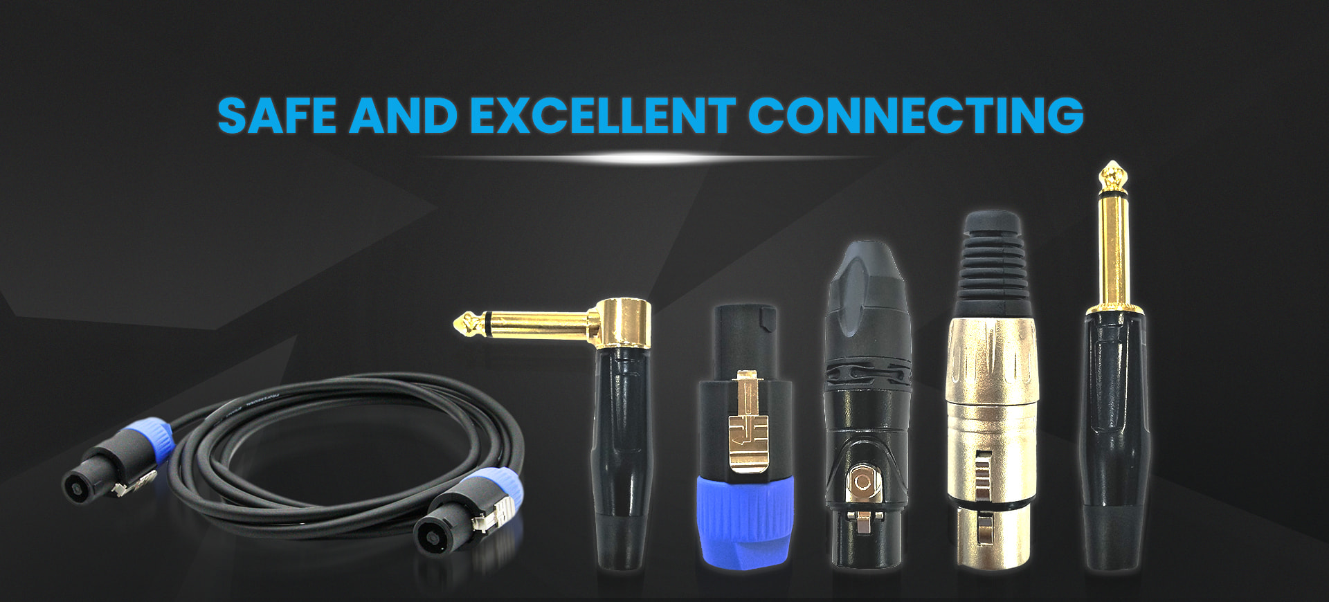 Professional Manufacturer Pure Sound from Excellent Cables  Focus on Pro Audio Cable more than 20 years