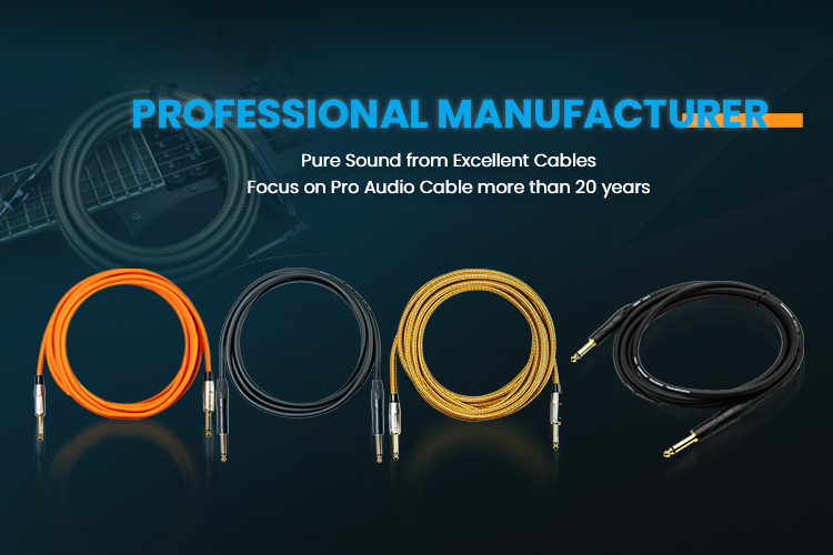 Connection Solution Provider Professional Audio Cables